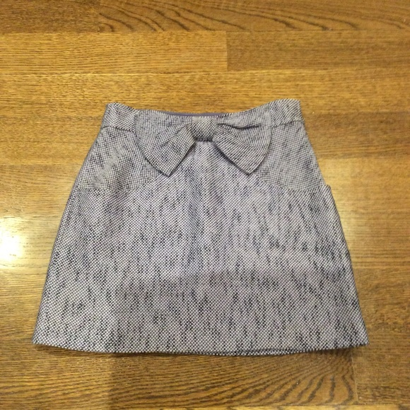 98ce665990c Tibi tweed a-line skirt with bow and pockets. M 5ac0149e00450f27db4783b9